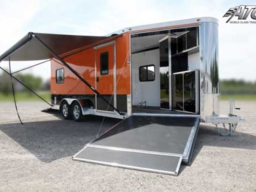 Schneider Orange, Premium Colors, Custom Trailer Options