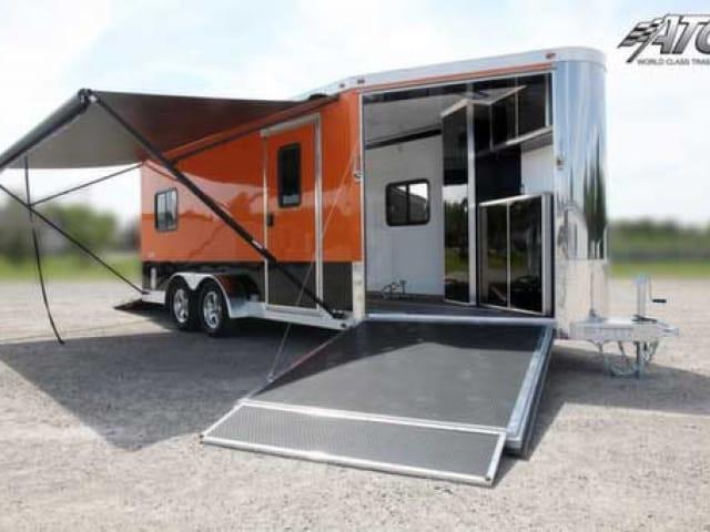 Schneider Orange, Premium Colors, Custom Trailer Options